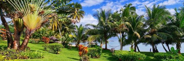 splendide Jardin la Crique face à la mer