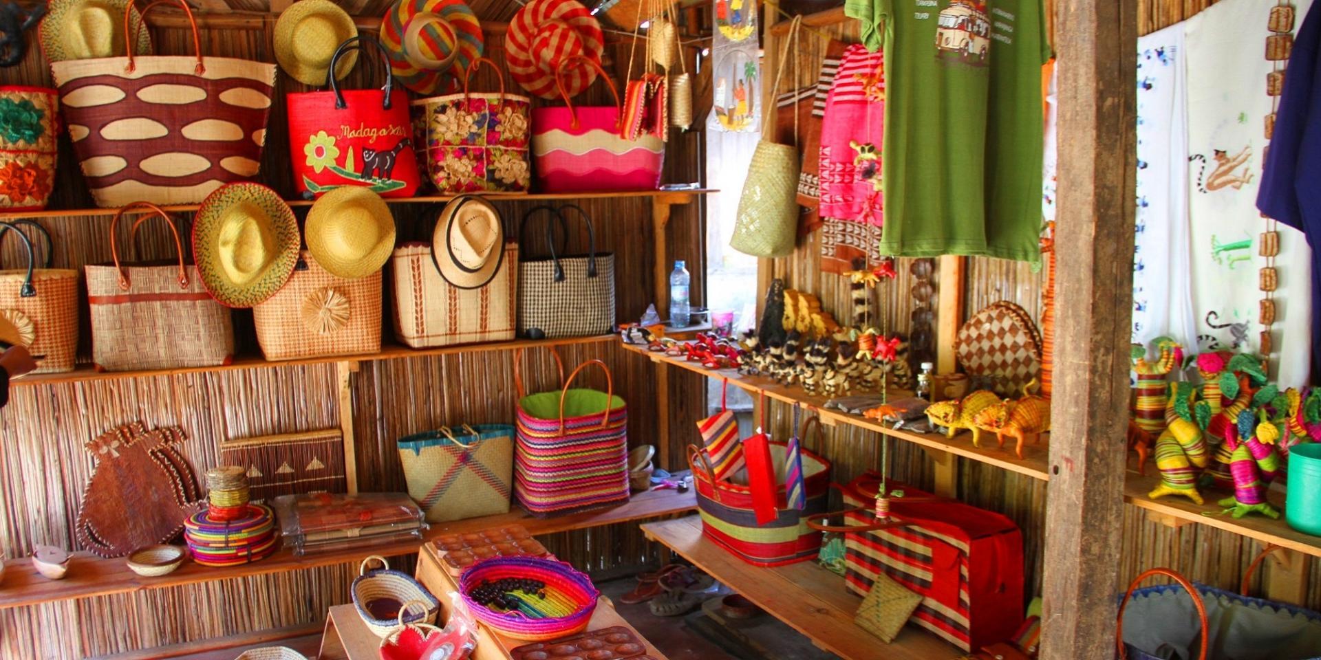 Boutique Artisanat malgache
