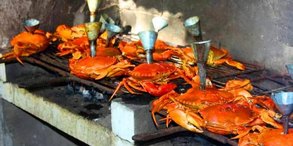 Crabe a l entonnoir