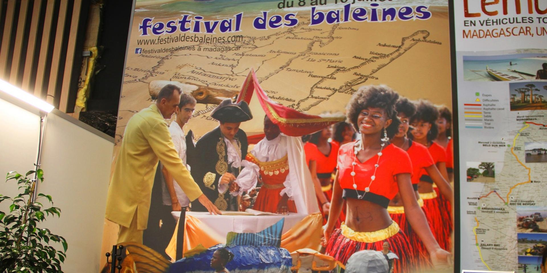 LE FESTIVAL DES BALEINES AU SALON INTERNATIONAL DU TOURISME