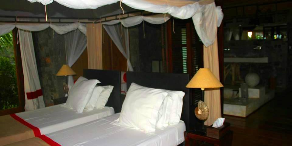 Lodge de charme, alliant luxe et nature sauvage dans un environnement typiquement tropical