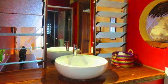Sdb chambre avec terrasse1