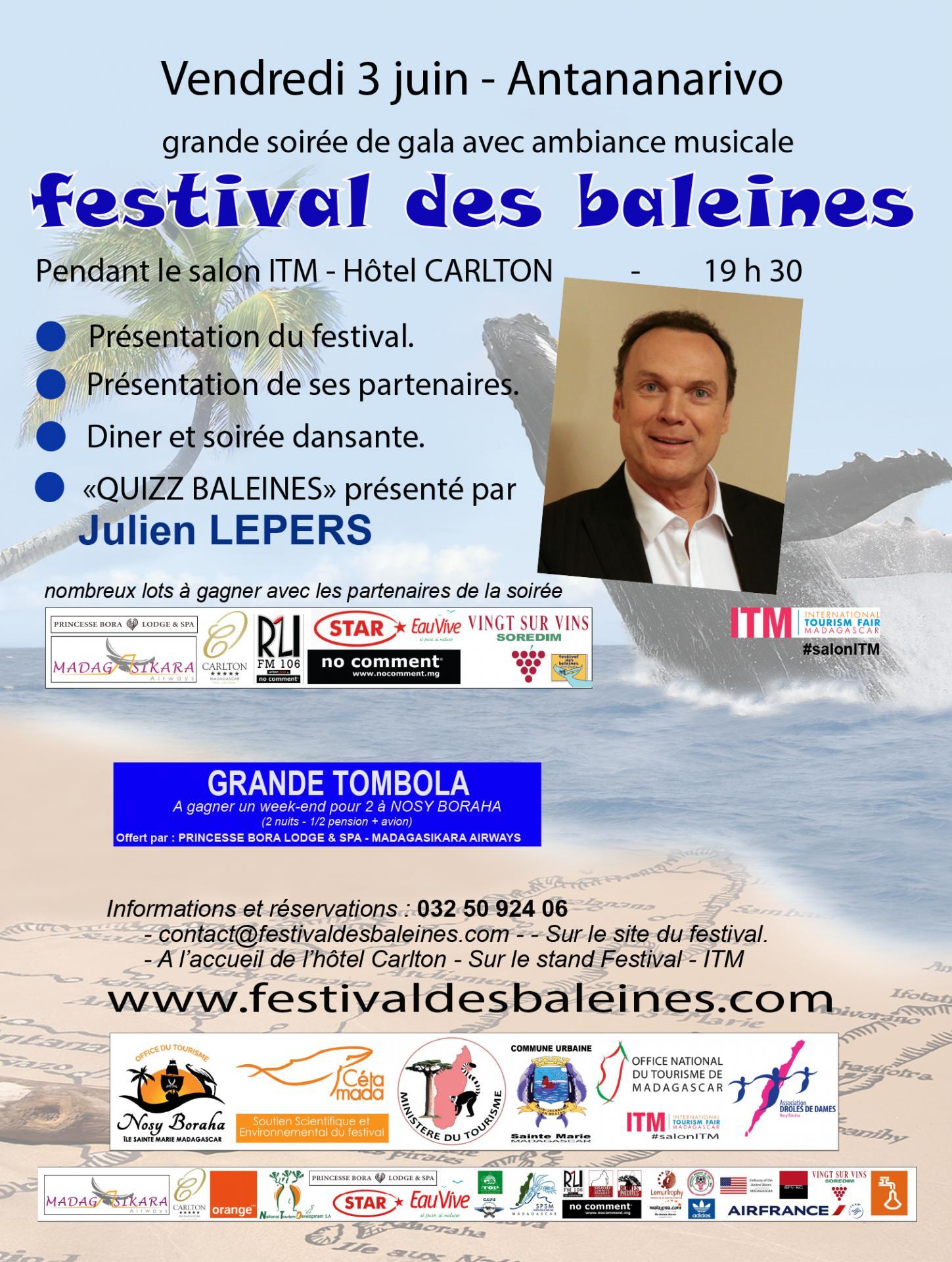 Soiree gala festival des baleines 2016