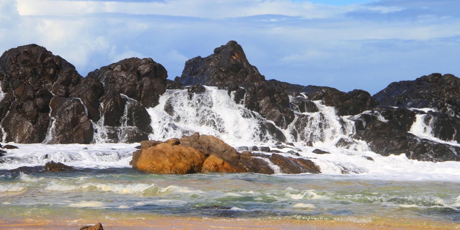 Les piscines naturelles d'Ambodiatafana sainte-marie madagascar